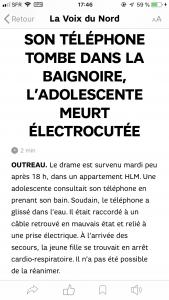 telephone tombe